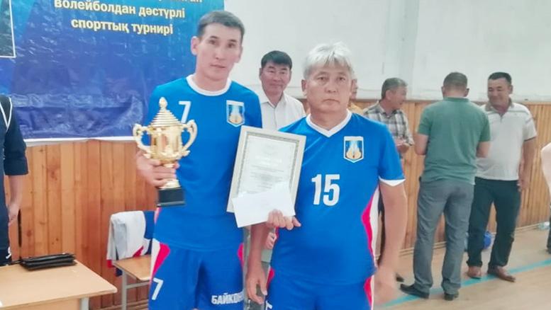 Ветераны волейбола Байконура  одержали победу в Кызылорде