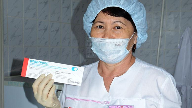 Чтобы не допустить эпидемии. Медики информируют население Байконура  о необходимости сделать прививки против гриппа.