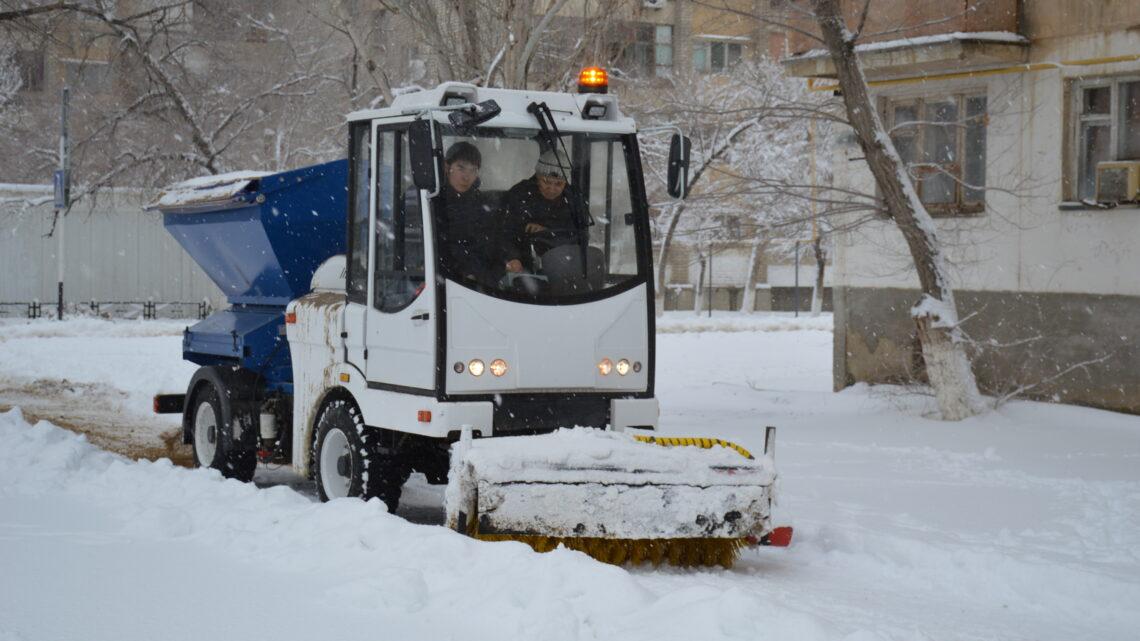 С первым снегом, Байконур!